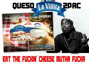 nuevo queso para el gangsta que llevas dentro