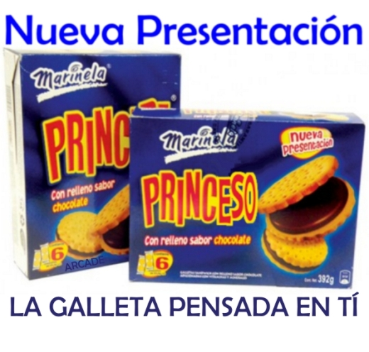 galletas princeso