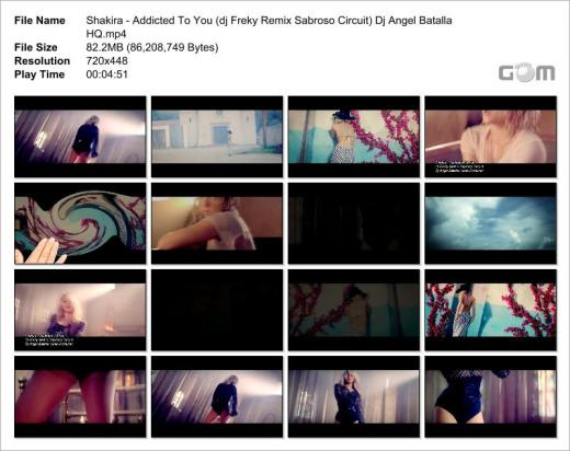 Shakira - Addicted To You (dj Freky Remix Sabroso Circuit) Dj Angel Batalla HQ_Snapshot